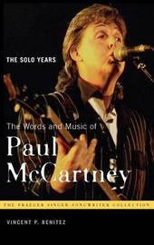 The Words and Music of Paul McCartney by Vincent P Benitez image