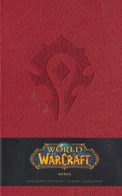 Warcraft Blank Journal - Horde Red (Large) by Blizzard Entertainment image