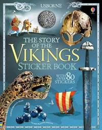 The Story of the Vikings Sticker Book by Megan Cullis