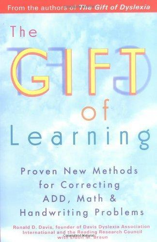 Gift of Learning by Ronald D Davis
