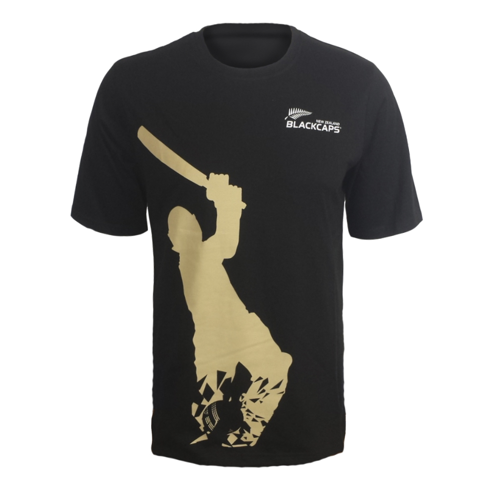 Blackcaps Screen Printed T Shirt - XL image