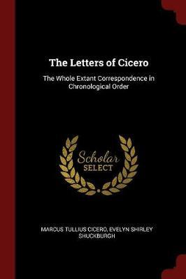 The Letters of Cicero by Marcus Tullius Cicero image