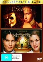 Casanova / Finding Neverland - Double Pack (2 Disc Set) on DVD