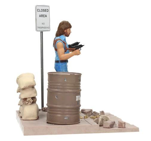 """Invasion U.S.A: Matt Hunter (Chuck Norris) - 7"""" Diorama image"""
