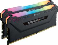 16GB (2 x 8GB) Corsair Vengeance DIMM DDR4, 3000MHZ - Black image