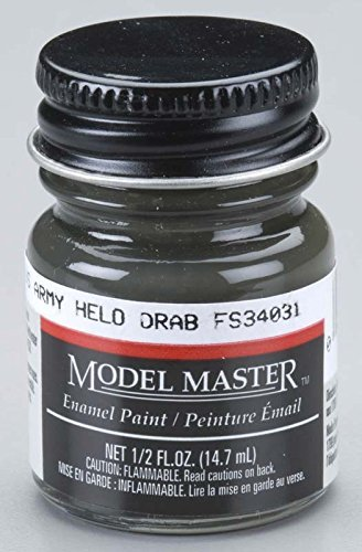 Testors: Enamel Paint - US Army Halo Drab (Flat)