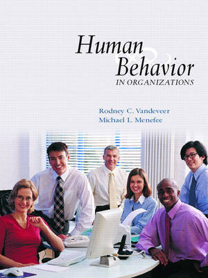 Human Behavior in Organizations by Michael L Menefee image
