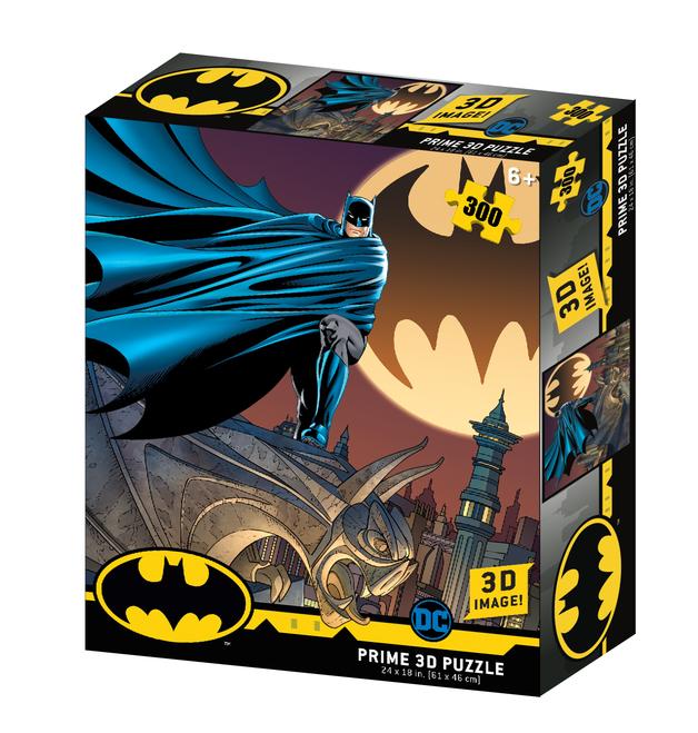 Super 3D: 300pc DC Comic Puzzle - Batman Caped Crusader