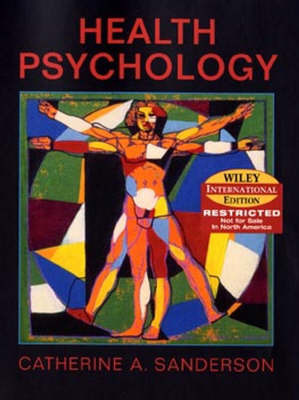 Health Psychology by C.A. Sanderson image