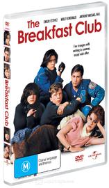 The Breakfast Club on DVD