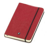 Ciak Cartesio Lined Notebook 90x140mm - Red