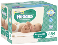 Huggies Wipes - 384 pack image