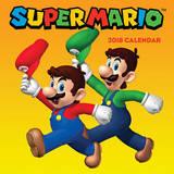 Super Mario 2018 Wall Calendar by Nintendo USA