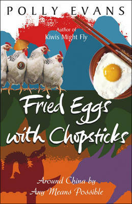 Fried Eggs with Chopsticks by Polly Evans image