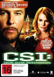 CSI - Las Vegas: Complete Season 7 (6 Disc Set) on DVD image