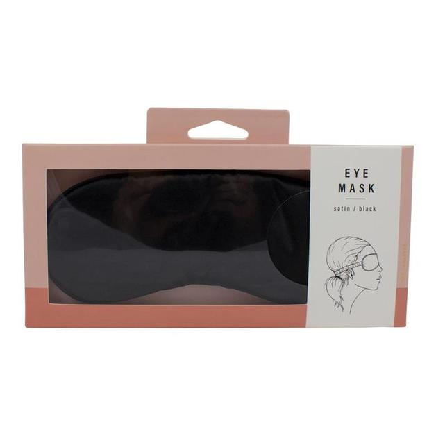 Simply Essential Satin Eye Mask - Black