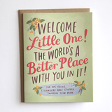 Emily McDowell - Welcome Little One Card
