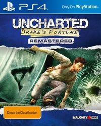 Uncharted: Drake's Fortune Re-mastered for PS4