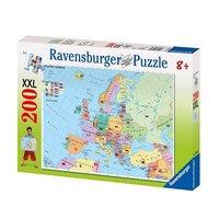 Ravensburger: European Map - 200pc Puzzle