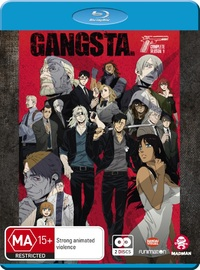 Gangsta - Complete Season 1 on Blu-ray