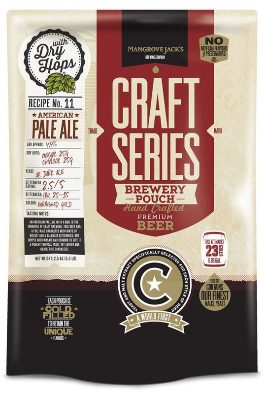Mangrove Jack's: Craft Series - IPA With Dry Hops Pouch (2.2kg)