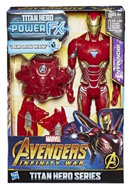 "Avengers Infinity War: Power FX Iron-Man - 12"" Titan Hero Figure"
