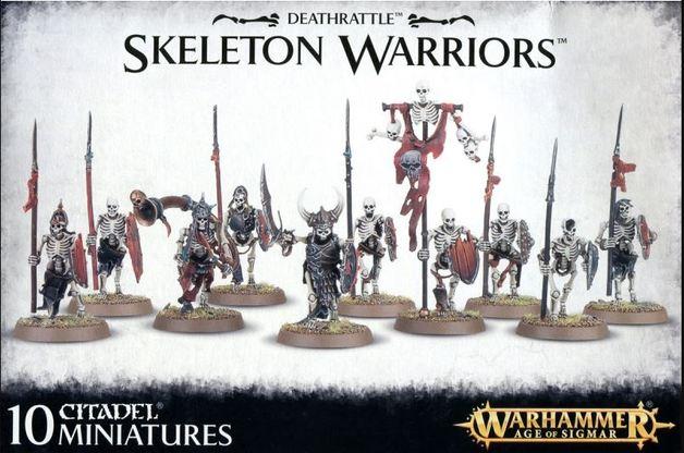 Warhammer Deathrattle Skeleton Warriors