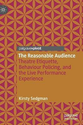 The Reasonable Audience by Kirsty Sedgman image
