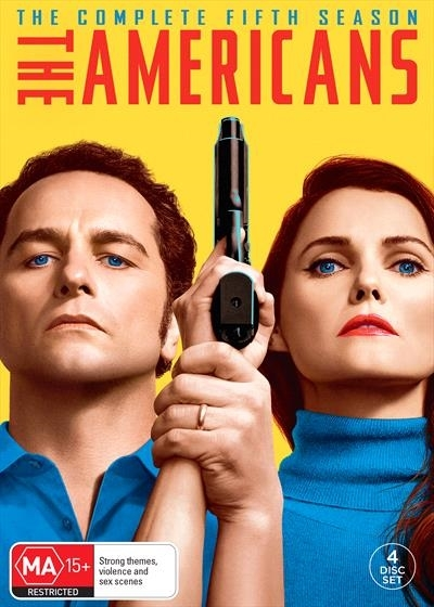 The Americans - Season 5 on DVD