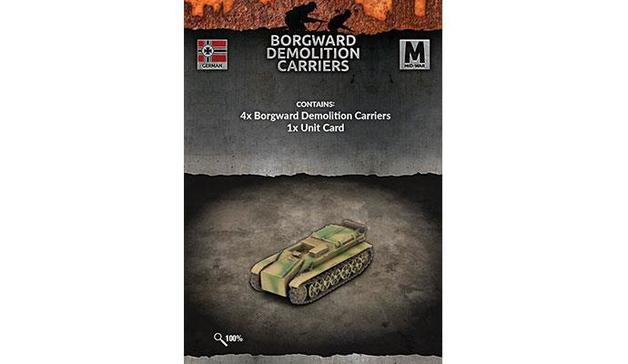 Flames of War: Borgward Demolition Carriers