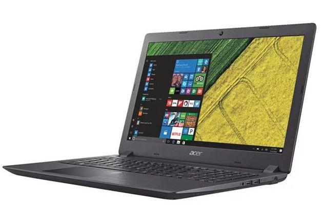 "Acer A315-21^ 15.6"" A4-9125 8GB 512GB SSD R3 GFX W10Home"