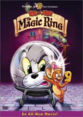 Tom and Jerry And The Magic Ring on DVD