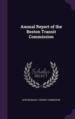 Annual Report of the Boston Transit Commission image