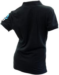 Silver Ferns Ladies Polo - Black (Size 10) image