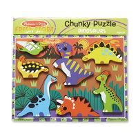 Melissa & Doug: Dinosaurs Chunky Puzzle