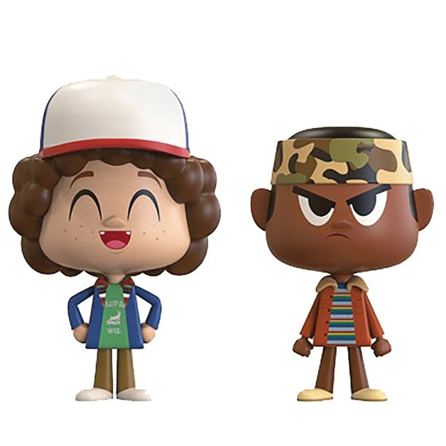 Stranger Thing: Lucas + Dustin - Vynl. Figure 2-Pack