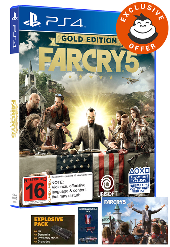 Far Cry 5 Gold Edition for PS4