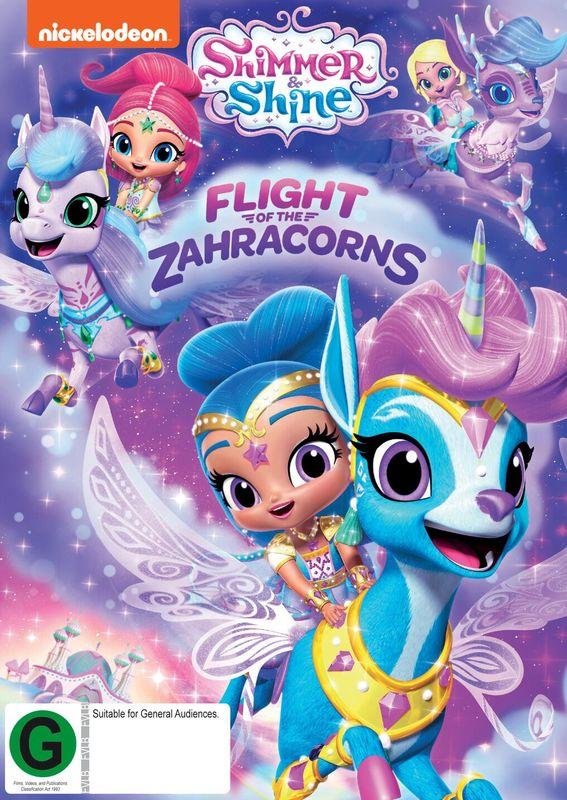 Shimmer & Shine: Flight Of The Zahracorns on DVD