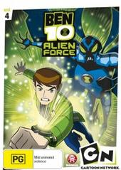 Ben 10: Alien Force - Vol. 4 on DVD