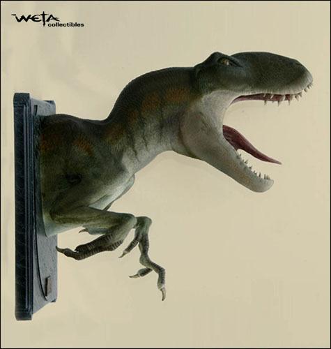 King Kong Venatosaurus Bust - by Weta   at Mighty Ape NZ