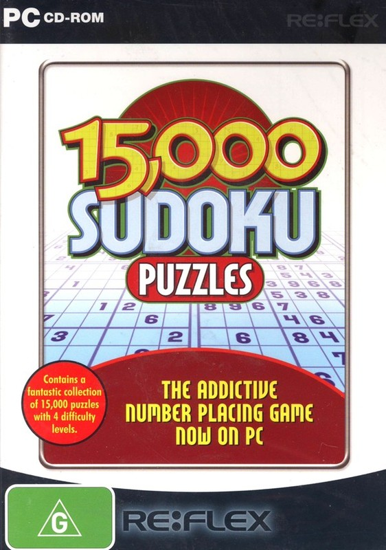 Sudoku Puzzles 15,000 (Big Bytes) for PC