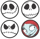 Nightmare Before Christmas Coaster Set (4 Pack)