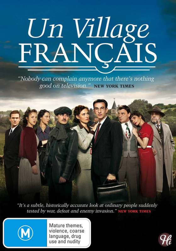 Un Village Francais Vol. 1 on DVD