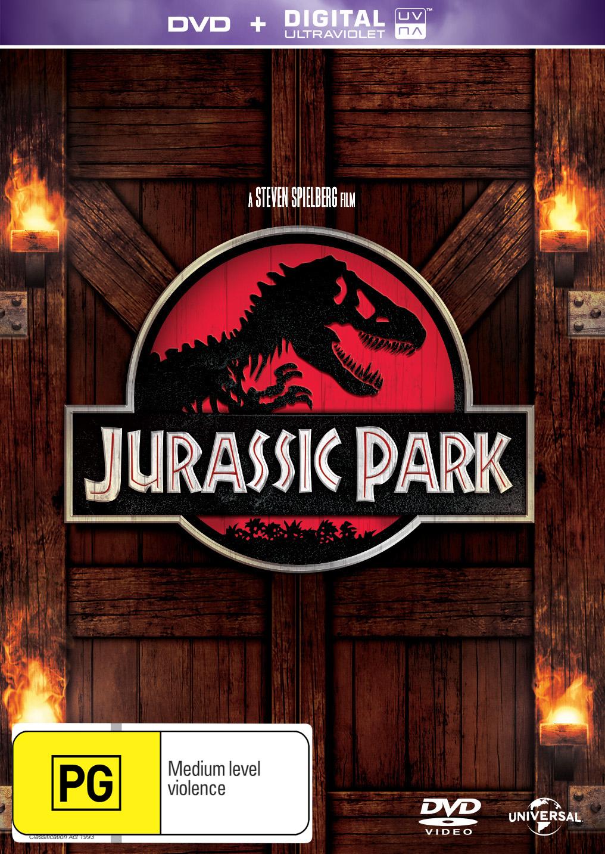 Jurassic Park on DVD image