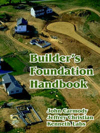 Builder's Foundation Handbook by Jeffrey Christian image