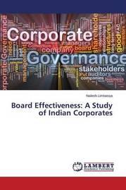 Board Effectiveness by Limbasiya Nailesh