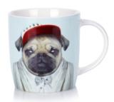 Annabel Trends: Zoo Portraits Coffee Mug - Pug