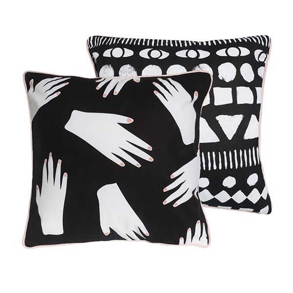 General Eclectic Cushion - Hands