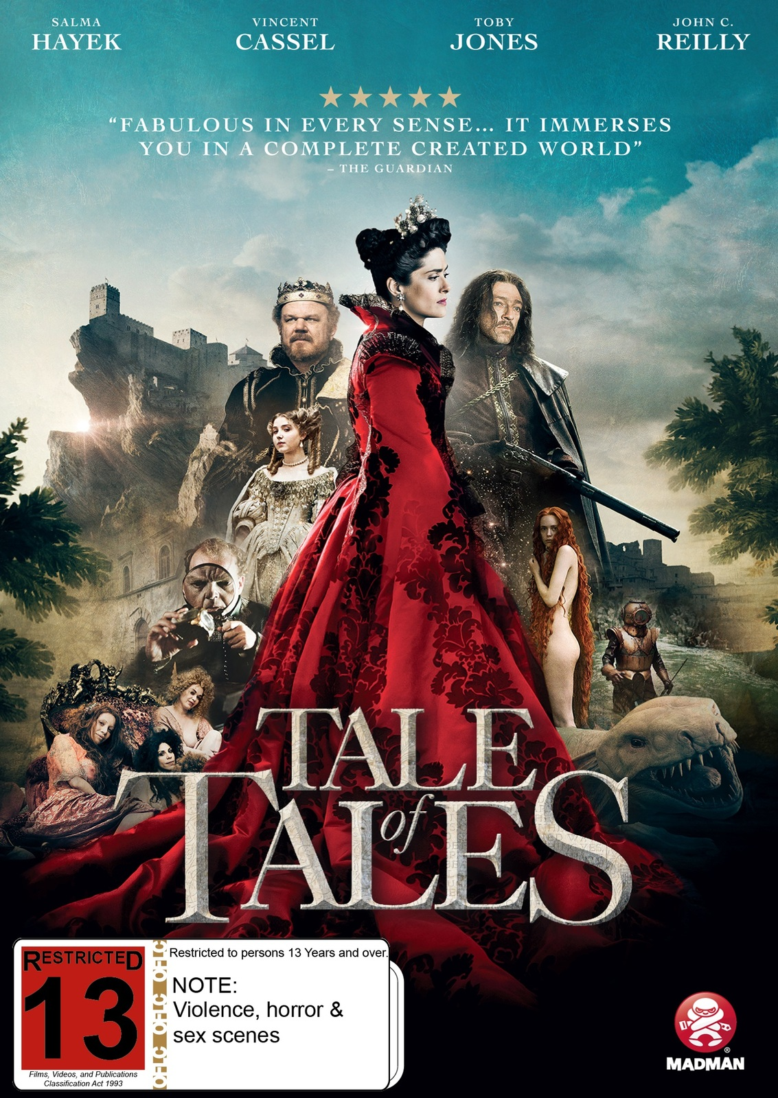 Tale of Tales on DVD image