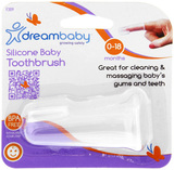 Dreambaby Silicone Baby Toothbrush - 0-18 Months
